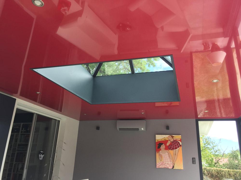 Plafond tendu avant après