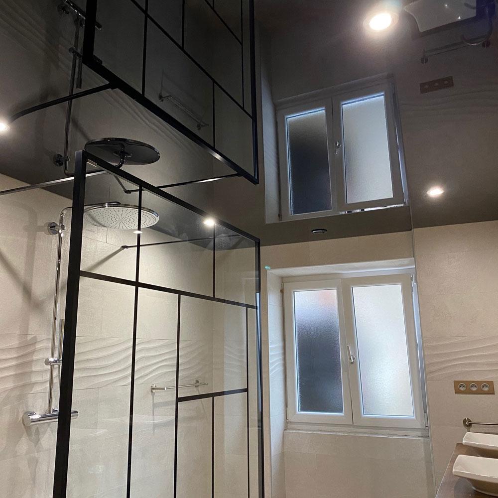 Plafond laque noire