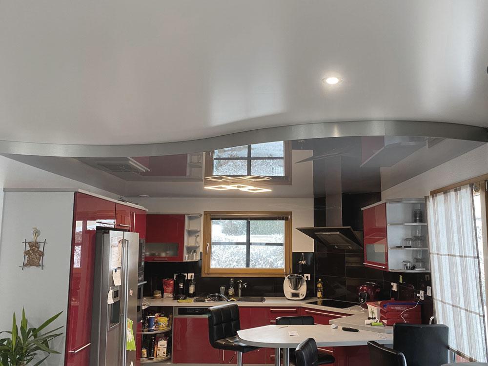 Plafond 3D acoustique
